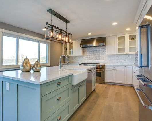 particleboard kitchen
